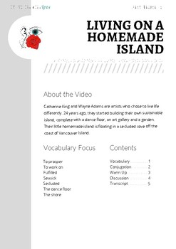 Living on a Homemade Island - Listening and Speaking Practice