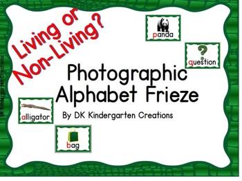 Living or Non Living Alphabet Frieze - 40% off until June 26, 2017