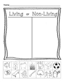 Living or Non Living Cut and Sort