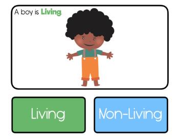 Living or Non-Living: Interactive PDF