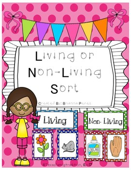 Living or Non-Living Sort