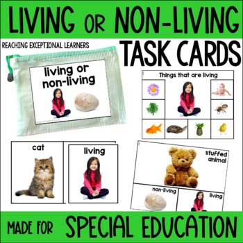 Living or Non-Living Task Card Set