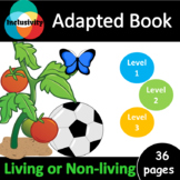 Living or Non-living ADAPTED BOOK including matching cards