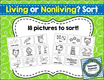 Living or NonLiving {Freebie}
