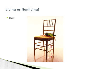 Living or Nonliving?