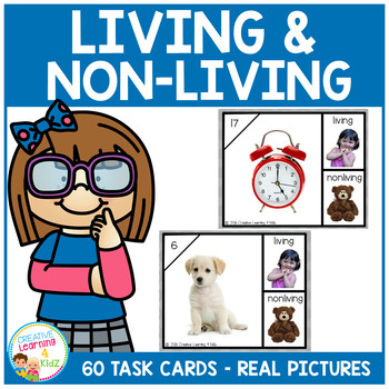 Living or Nonliving Task Cards