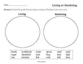 Living or Nonliving