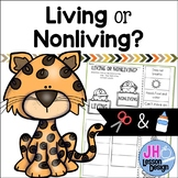Living or Nonliving? Cut and Paste Sorting Activity