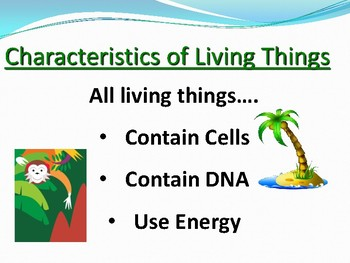 Living or Nonliving Power Point