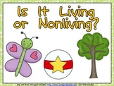 Living or Nonliving Shared Reading- Kindergarten- Science