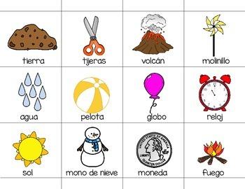 Living or Nonliving Sort in Spanish