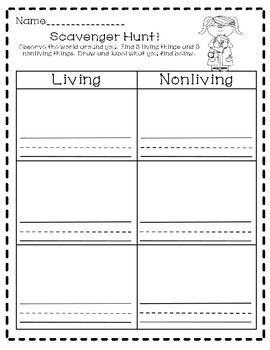 Living and Nonliving Sorting: Worksheets, Activities, and More!