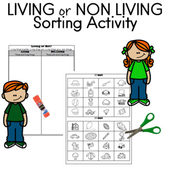 Living or Nonliving  Identify and Sort