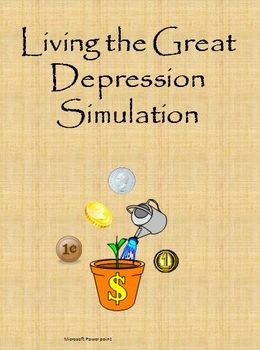 Living the Great Depression Simulation