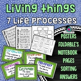 Living things - 7 Life Processes Packet
