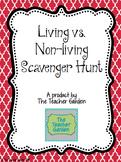 Living v Non-living Scavenger Hunt
