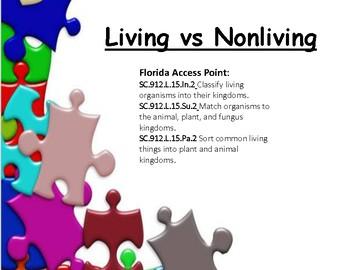 Living vs Non Living