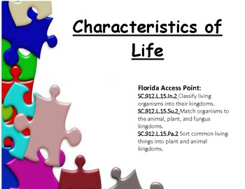 Characteristics of Life - Living and Nonliving