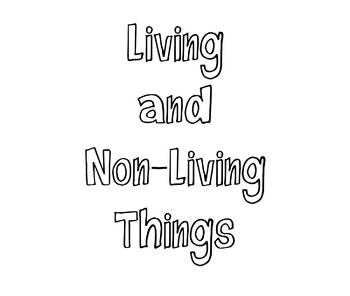 Living vs. Non-Living Powerpoint