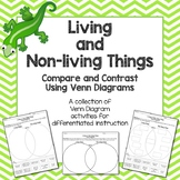 Living and Non-Living Things Compare and Contrast Using Ve