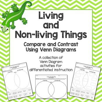 Living vs. Non-Living Things Venn Diagram