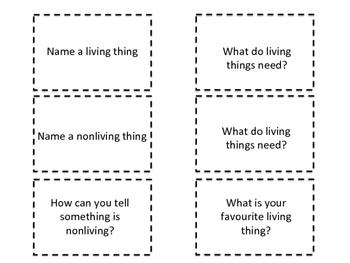 Living vs Nonliving Game 2.0