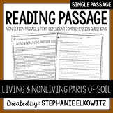 Living and Nonliving Parts of Soil Reading Passage