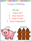 Living vs. Nonliving Question Posters