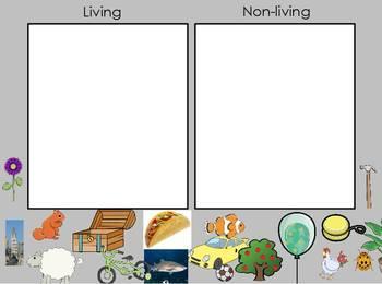 Living vs. Nonliving flipchart