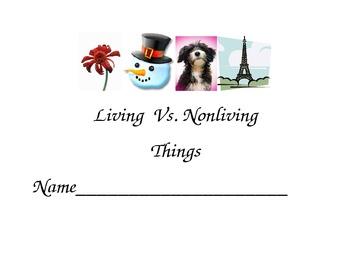 Living vs. Nonliving student booklet