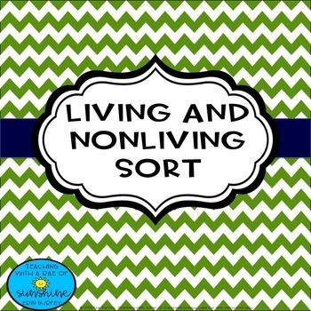 Living/Non Living Things Sort
