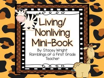 Living/Nonliving Mini Book