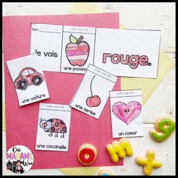 Les Couleurs FREEBIE - Colour flip book FRENCH - 2 Booklets