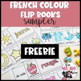 Les Couleurs FREEBIE - Colour flip book FRENCH - 2 Booklets