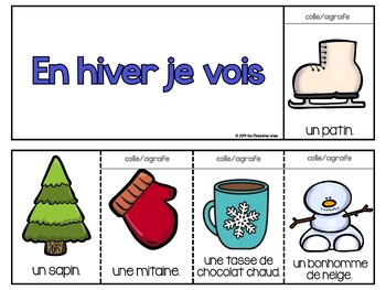 Livre à Cachettes - Winter Flip Book FRENCH