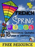 Livre Numérique de Ressources Gratuites // French Spring eBook: Tips & Freebies