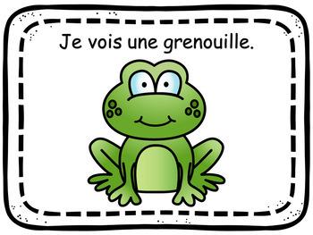 Livre pour lecteur débutant - LE PRINTEMPS  (FRENCH FSL)