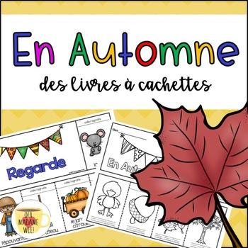Livres à Cachettes - Fall Flip Book FRENCH // Automne