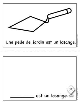 Livres sur les Formes Géométriques - 2D  - le losange