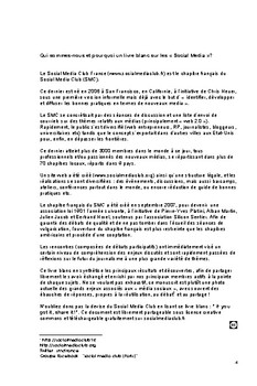 Livret Blanc Social Media Club France by Social Media Club France