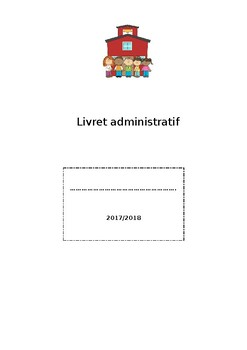 Livret administratif modifiable