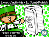 Livret d'activités - La Saint-Patrick
