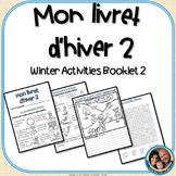 Livret d'hiver 2 - French Winter Activities Version 2