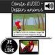 Livret de lecture AUDIO - Le Petit Chaperon Rouge (couleur/noir et blanc)
