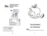 Livret de lecture : Les pommes à  l'automne  M-1 Immersion