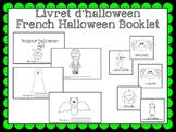 Livret de vocabulaire (halloween) - French vocabulary book