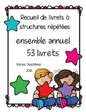 Livrets à structures répétées- Ensemble annuel