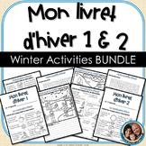 Livret d'hiver BUNDLE - French Winter Activities