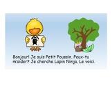 Où est Lapin Ninja? Livrets différenciés -Pâques - French Easter Booklets