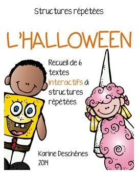 "Livrets interactifs ""L'Halloween"""